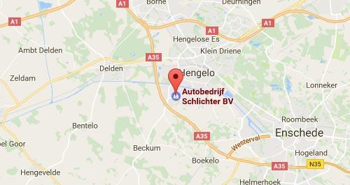 Autobedrijf Schlichter - Route